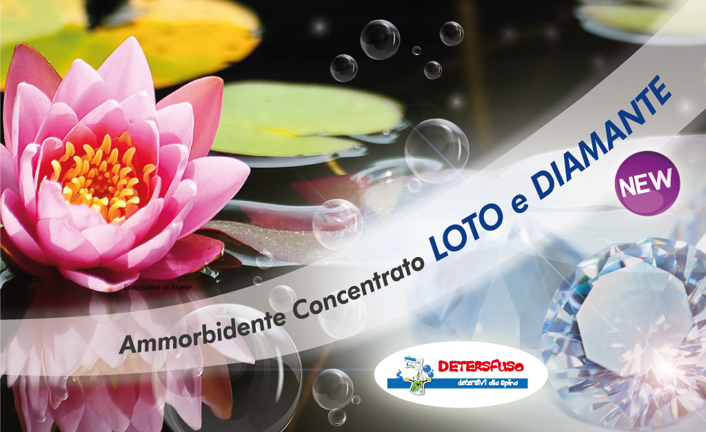 Ammorbidente Loto e Diamante